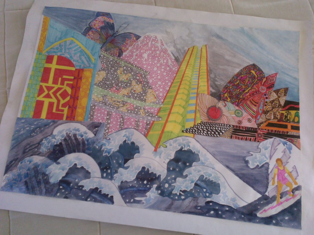 Which japanese artist should i choose for my art coursework?