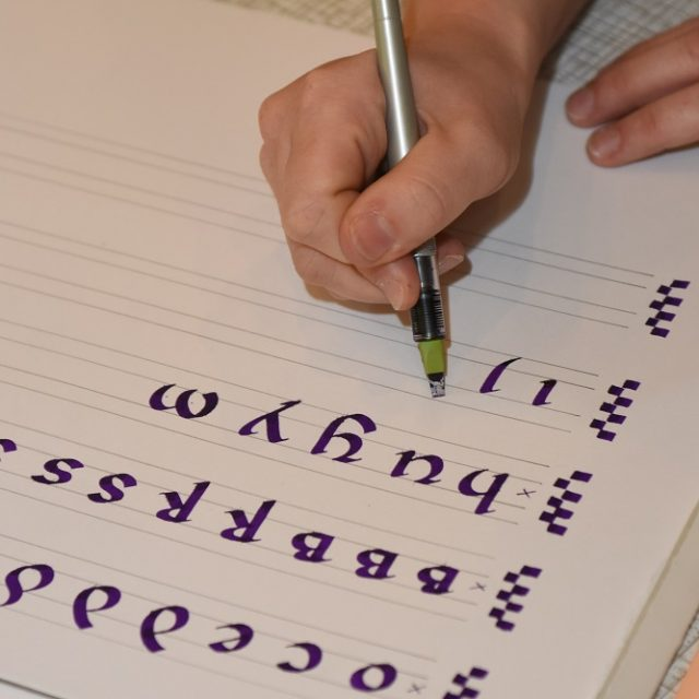 Your Art funding for calligraphy group