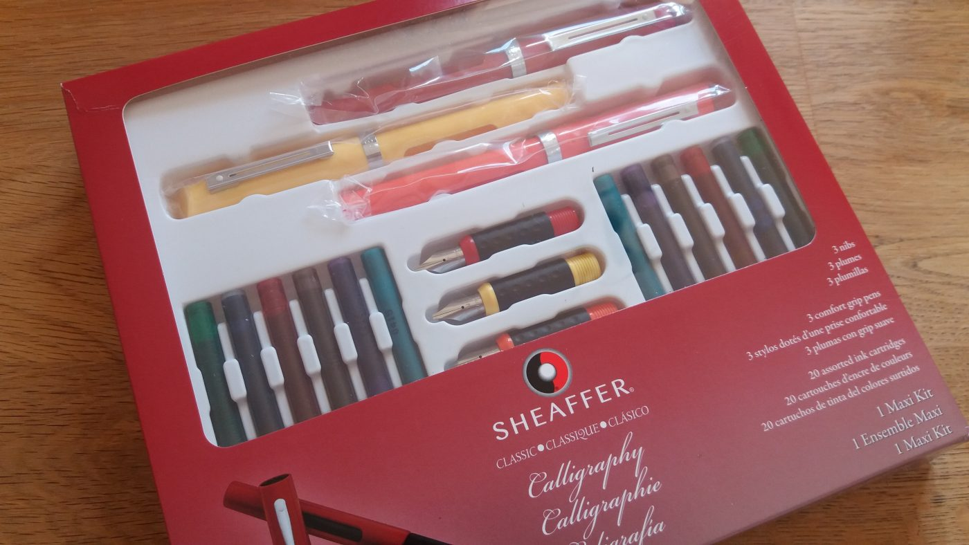 Sheaffer Calligraphy Set From The Pen Company Creative