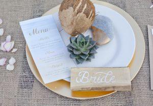 review beach wedding