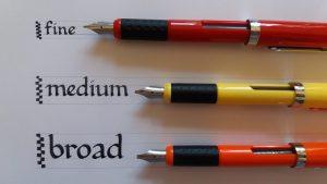 sheaffer calligraphy 2 cartridge pens