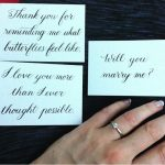 Calligraphy for a New York City proposal