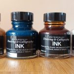Diamine calligraphy inks from The Pen Company