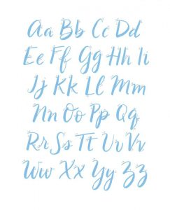 lettering By Hand 3