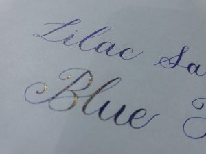 diamine shimmertastic ink 2